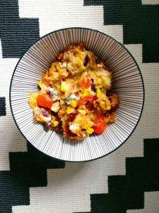 Fast Food Vegan: Tortilla Auflauf