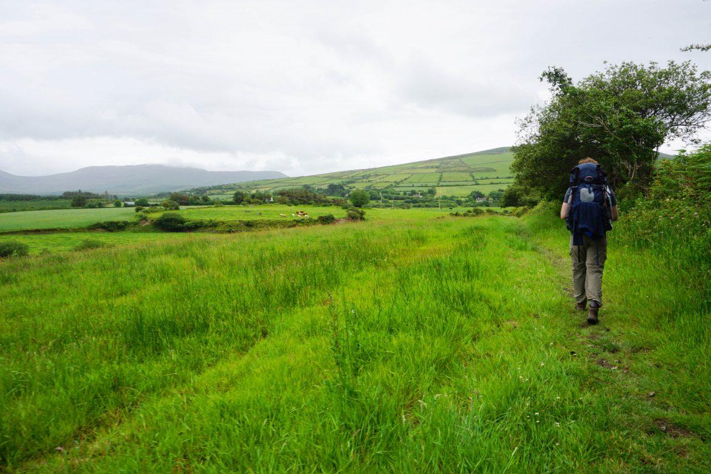 Vegan Wandern in Irland