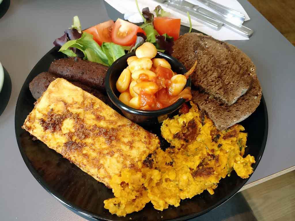 vegan frühstücken irisch Dublin